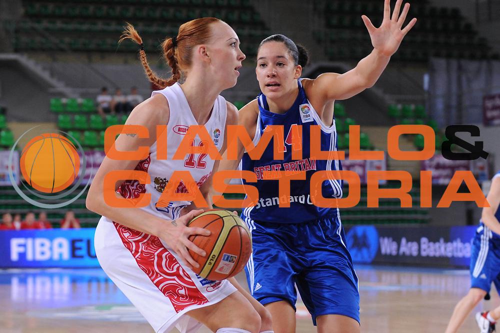 DESCRIZIONE : Bydgoszcz Poland Polonia Eurobasket Women 2011 Round 2 Russia Gran Bretagna Russia Great Britain<br /> GIOCATORE : irina Osipova<br /> SQUADRA : Russia Russia<br /> EVENTO : Eurobasket Women 2011 Campionati Europei Donne 2011<br /> GARA : Russia Gran Bretagna Russia Great Britain<br /> DATA : 27/06/2011 <br /> CATEGORIA : <br /> SPORT : Pallacanestro <br /> AUTORE : Agenzia Ciamillo-Castoria/M.Marchi<br /> Galleria : Eurobasket Women 2011<br /> Fotonotizia : Bydgoszcz Poland Polonia Eurobasket Women 2011 Round 2 Russia Gran Bretagna Russia Great Britain<br /> Predefinita :