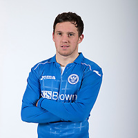 Danny Swanson, St Johnstone FC...Season 2014-2015<br /> Picture by Graeme Hart.<br /> Copyright Perthshire Picture Agency<br /> Tel: 01738 623350  Mobile: 07990 594431