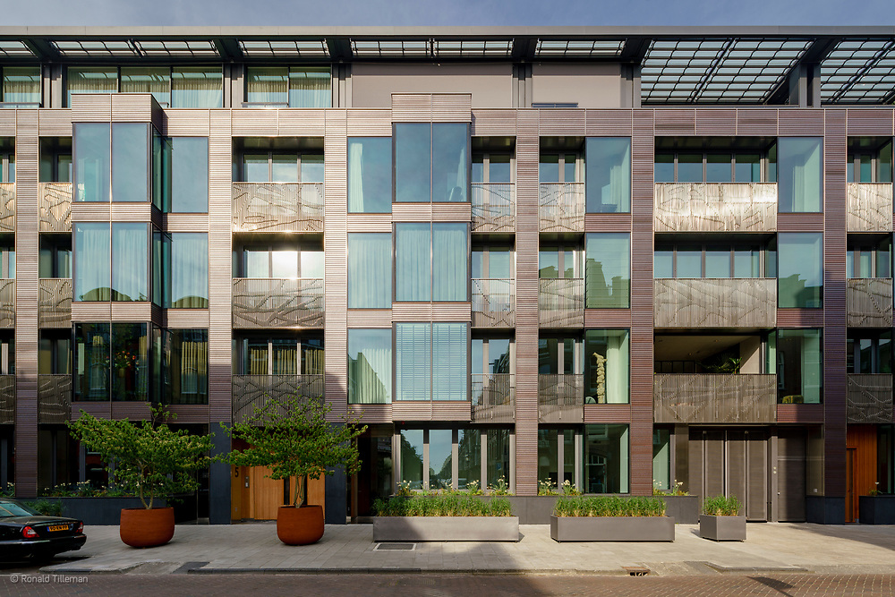 More appartments desigen by MVSA Architects, Banstraat Amsterdam