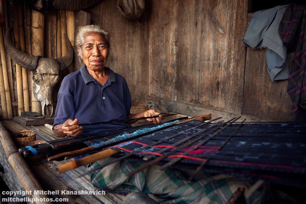 Ikat, or Ikkat, is a style of weaving that uses a resist dyeing process similar to tie-dye on either the warp or weft before the threads are woven to create a pattern or design.