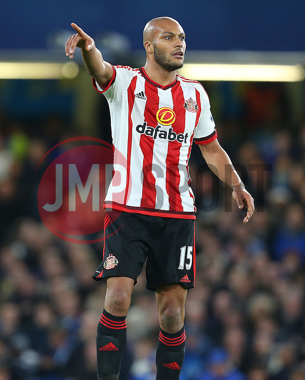 Younes Kaboul of Sunderland - Mandatory byline: Paul Terry/JMP - 07966 386802 - 19/12/2015 - FOOTBALL - Stamford Bridge - London, England - Chelsea v Sunderland - Barclays Premier League