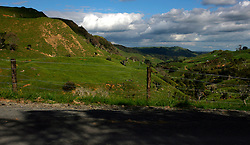 NEW ZEALAND RAGLAN 16DEC07 - Scenic landscape near Raglan...jre/Photo by Jiri Rezac..© Jiri Rezac 2007..Contact: +44 (0) 7050 110 417.Mobile:  +44 (0) 7801 337 683.Office:  +44 (0) 20 8968 9635..Email:   jiri@jirirezac.com.Web:    www.jirirezac.com..© All images Jiri Rezac 2007 - All rights reserved.