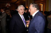 Lord Norman Lamont and Sir Frederick Forsyth, Bruce Oldfield celebrates the publication of 'Rootless' party in aid of Crimestoppers. Claridges. 22 September 2004. SUPPLIED FOR ONE-TIME USE ONLY-DO NOT ARCHIVE. © Copyright Photograph by Dafydd Jones 66 Stockwell Park Rd. London SW9 0DA Tel 020 7733 0108 www.dafjones.com