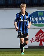 19.4.2014, Veritas Stadion, Turku.<br /> Veikkausliiga 2014.<br /> FC Inter Turku - Seinäjoen Jalkapallokerho.<br /> Joni Aho - Inter