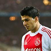 NLD/Amsterdam/20100928 - Champions Leaguewedstrijd Ajax - AC Milan, Luis Suarez