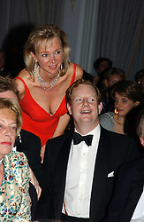The EARL & COUNTESS OF DERBY at the 2004 Cartier Racing Awards in association with the Daily Telegraph, held at the Four Seasons Hotel, London on 17th November 2004.<br />