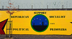 Murals in the Falls Road, Belfast, Northern Ireland<br /> <br /> (c) Andrew Wilson | Edinburgh Elite media