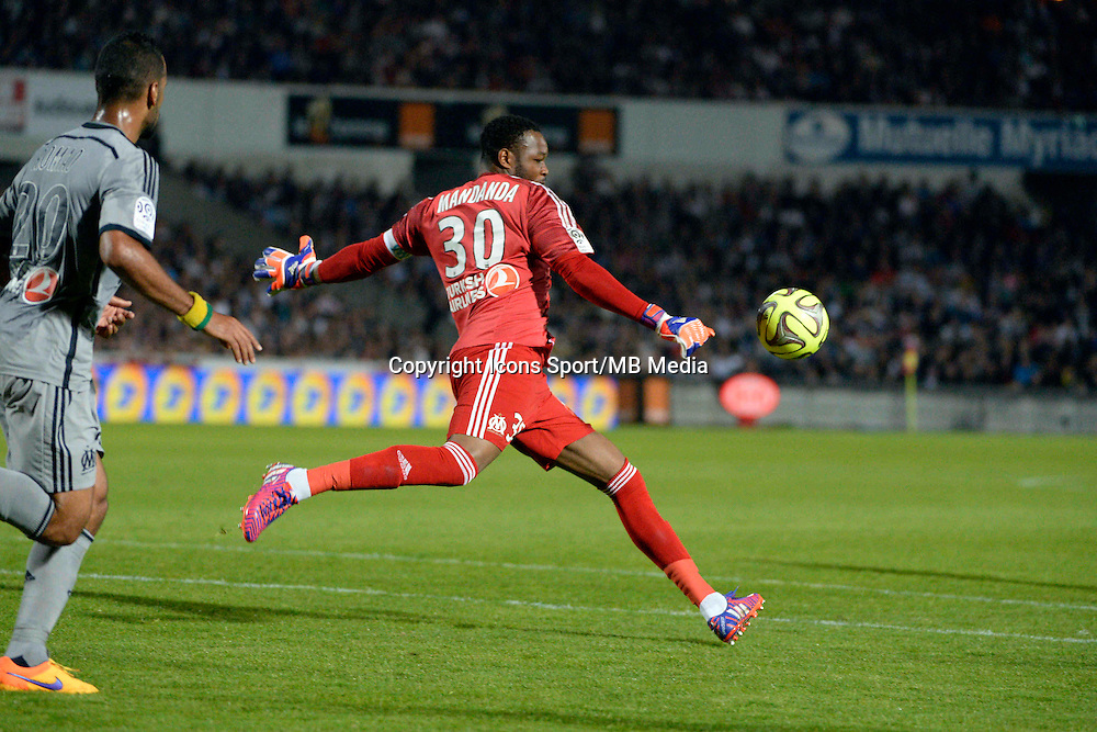 Steve MANDANDA - 12.04.2015 - Bordeaux / Marseille - 32eme journee de Ligue 1 <br />Photo : Caroline Blumberg / Icon Sport
