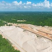 CALICA plant in Playa del Carmen. Riviera Maya, Mexico.