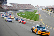 August 16, 2009: The pace car leads the field during a caution at the CARFAX 400 race, Michigan International Speedway, Brooklyn, MI.