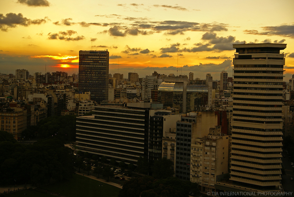 Sunset in Buenos Aires (2)