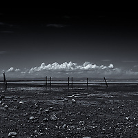 Dungeness Landing, Sequim, WA<br /> editted &amp; converted to B&amp;W 5/23/18, printed5/31/18