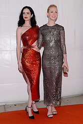 Actors  Krysten Ritter and Deborah Ann Woll attend the 'Marvel's The Defenders' New York Premiere at Tribeca Performing Arts Center in New York, NY, on on July 31, 2017. (Photo by Anthony Behar) *** Please Use Credit from Credit Field ***
