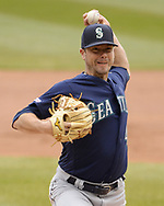 CHICAGO - APRIL 07:  Wade LeBlanc #49 of the Seattle Mariners pitches against the Chicago White Sox on April 7, 2019 at Guaranteed Rate Field in Chicago, Illinois.  (Photo by Ron Vesely)  Subject:  Wade LeBlanc