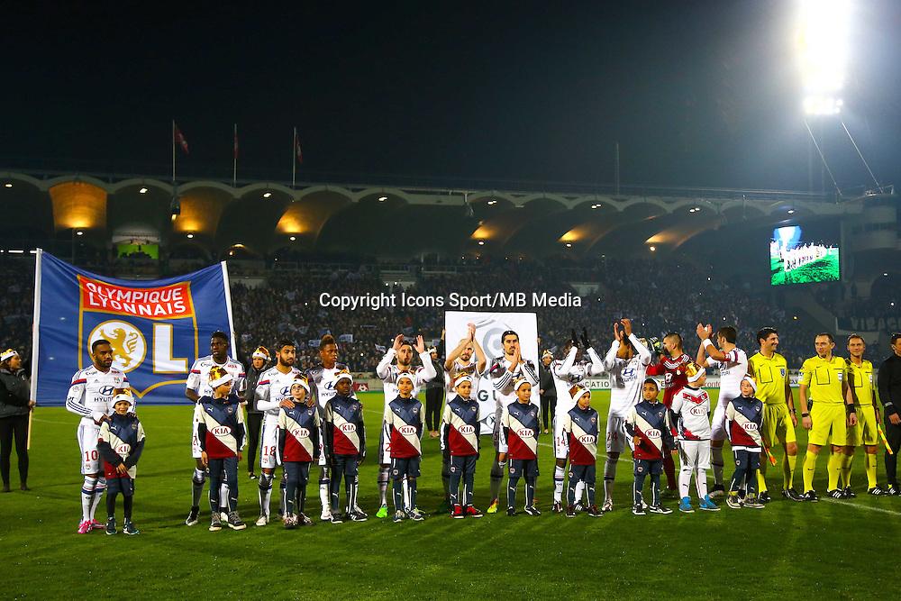 Joueurs de Lyon  - 21.12.2014 - Bordeaux / Lyon - 19eme journee de Ligue 1 -<br /> Photo : Manuel Blondeau / Icon Sport