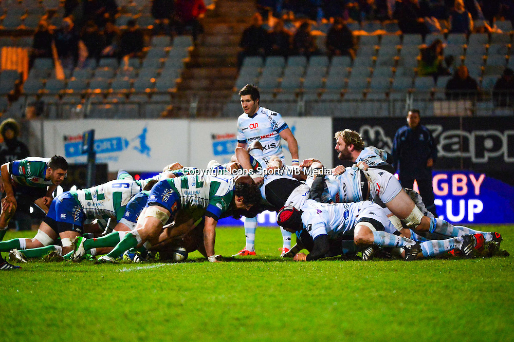 Melee  - 18.01.2015 - Racing Metro 92 / Trevise - European Champions Cup<br /> Photo : Dave Winter / Icon Sport