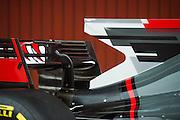 February 26, 2017: Circuit de Catalunya. Kevin Magnussen, Romain Grosjean (FRA), Haas F1 Team, VF17 launch