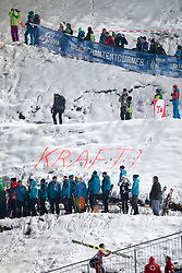 06.01.2015, Paul Ausserleitner Schanze, Bischofshofen, AUT, FIS Ski Sprung Weltcup, 63. Vierschanzentournee, Finale, im Bild Fans Stefan Kraft (AUT) // supporters of Stefan Kraft of Austria during Final Jump of 63rd Four Hills Tournament of FIS Ski Jumping World Cup at the Paul Ausserleitner Schanze, Bischofshofen, Austria on 2015/01/06. EXPA Pictures © 2015, PhotoCredit: EXPA/ Johann Groder