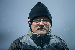 Zeljko Martinovic, coach of Krka after the football match between NK Domzale and NK Krka in Semifinal of Slovenian Football Cup 2016/17, on April 4, 2017 in Sports park Domzale, Slovenia. Photo by Vid Ponikvar / Sportida