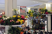 Floral gardens inspired by America's iconic destinations decorate the main floor at the 42nd Annual Macy's Flower Show, Sunday, March 20, 2016, at Macy's Herald Square in New York. (Diane Bondareff/AP Images for Macy's Inc.)