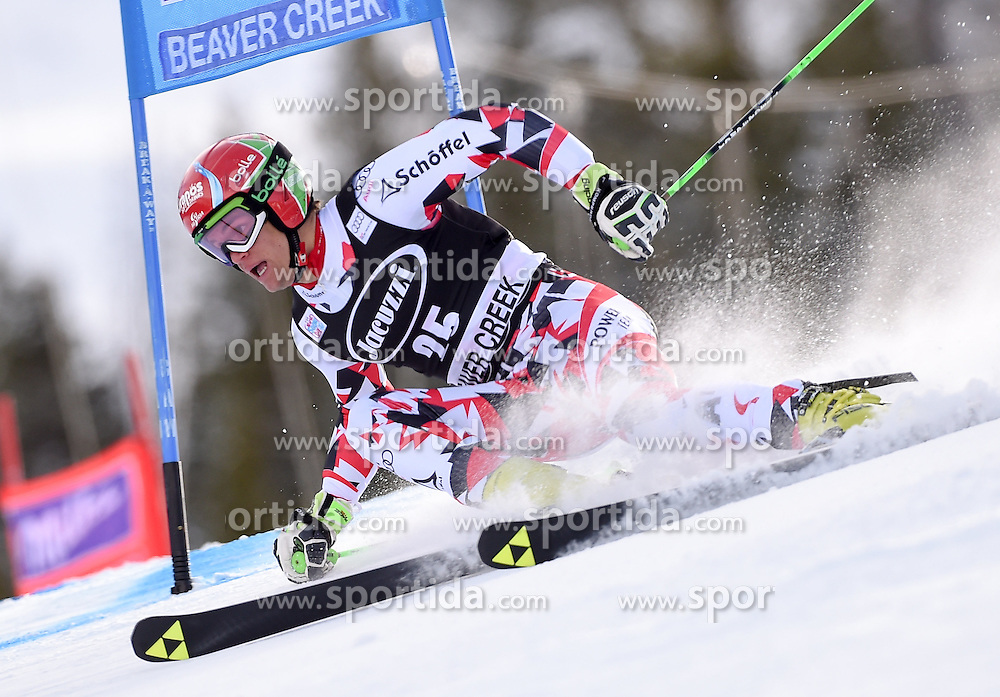 06.12.2015, Birds of Prey Course, Beaver Creek, USA, FIS Weltcup Ski Alpin, Beaver Creek, Riesenslalom, Herren, 1. Lauf, im Bild Roland Leitinger (AUT) // Roland Leitinger of Austria during the first run of mens Giant Slalom of the Beaver Creek FIS Ski Alpine World Cup at the Birds of Prey Course in Beaver Creek, United States on 2015/12/06. EXPA Pictures © 2015, PhotoCredit: EXPA/ Erich Spiess