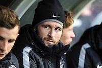 Yohan CABAYE - 14.12.2014 - Guingamp / Paris Saint Germain - 18eme journee de Ligue 1<br />Photo : Vincent Michel / Icon Sport