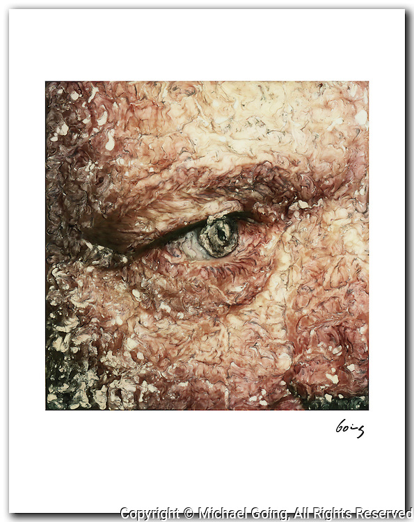 Eye, 1979 11x14 signed archival pigment print free shipping