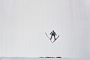 Zakopane, Poland - 2017 January 20: Jan Ziobro from Poland soars through the air during Large Hill Individual FIS Ski Jumping World Cup 2017 at Wielka Krokiew on January 20, 2017 in Zakopane, Poland.<br /> <br /> Adam Nurkiewicz declares that he has no rights to the image of people at the photographs of his authorship.<br /> <br /> Picture also available in RAW (NEF) or TIFF format on special request.<br /> <br /> Any editorial, commercial or promotional use requires written permission from the author of image.<br /> <br /> Mandatory credit:<br /> Photo by &copy; Adam Nurkiewicz / Mediasport