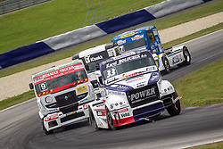 06.07.2013, Red Bull Ring, Spielberg, AUT, Truck Race Trophy, Renntag 1, im Bild David Vrsecky, (CZE, Buggyra International Racing Team, #33), Anthony Janiec, (FRA, Anthony Janiec, #9), Mika Maekinen, (FIN, Mika Maekinen, #7) // during the Truck Race Trophy 2013 at the Red Bull Ring in Spielberg, Austria, 2013/07/06, EXPA Pictures © 2013, PhotoCredit: EXPA/ M.Kuhnke