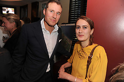 A party to promte the exclusive Puntacana Resort & Club - the Caribbean's Premier Golf & Beach Resort Destination, was held at The Groucho Club, 45 Dean Street London on 12th May 2010.<br /> <br /> Picture shows:-ALISTAIR BALFOUR and CAMILLA WALKTERS
