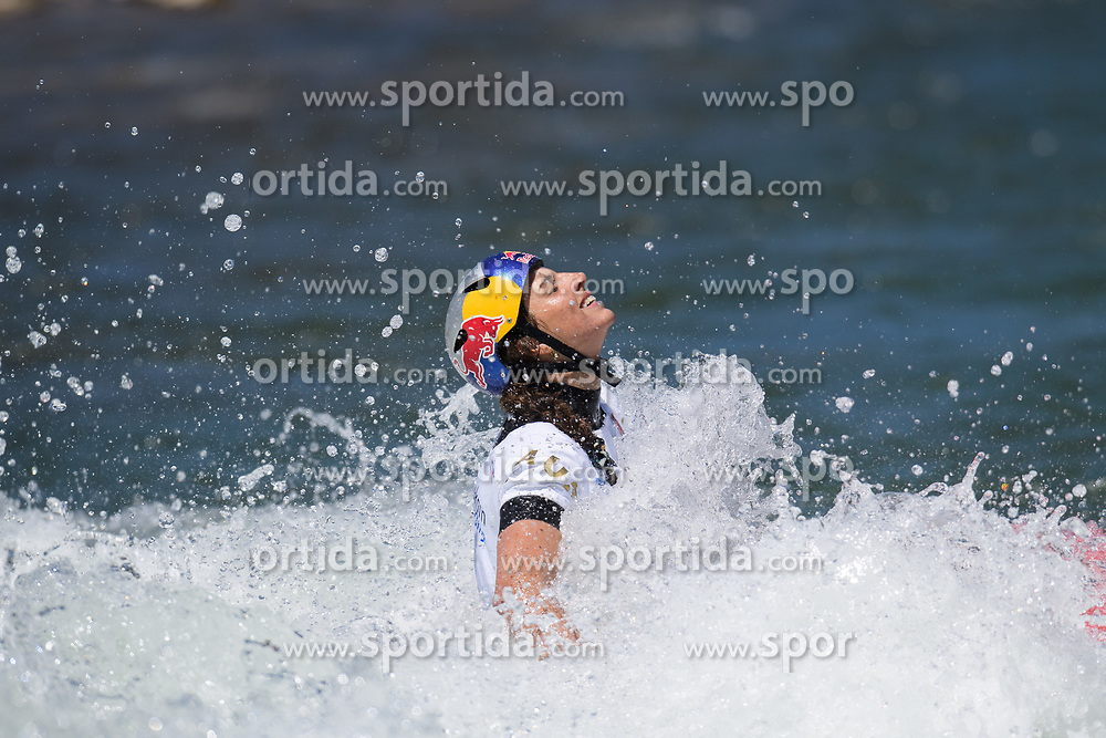 Jessica FOX of Australia during the Canoe Single (WC1) Womens Final race of 2019 ICF Canoe Slalom World Cup 4, on June 30, 2019 in Tacen, Ljubljana, Slovenia. Photo by Sasa Pahic Szabo / Sportida