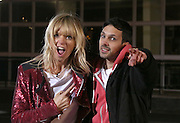 MAGICIAN DYNAMO PERFORMS A DISAPPEARING ACT AT BBC TELEVISION CENTRE LONDON PRESENTED BY ZOE BALL FOR COMIC RELIEF.14.3.13.PIX STEVE BUTLER