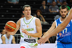 Goran Dragic of Slovenia during friendly match between National Teams of Slovenia and Greece before World Championship Spain 2014 on August 17, 2014 in Kaunas, Lithuania. Photo by Robertas Dackus / Sportida.com