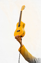 "The ""Bring Me Sunshine"" ukulele!..9 September 2012.Image © Paul David Drabble"