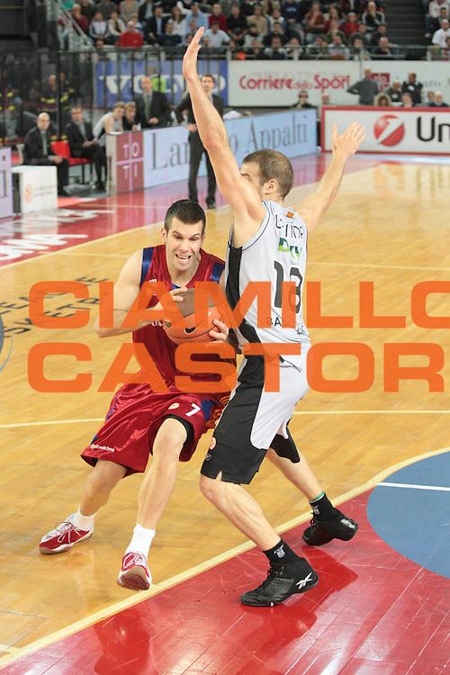 DESCRIZIONE : Roma Eurolega 2008-09 Lottomatica Virtus Roma DKV Joventut Badalona<br /> GIOCATORE : Sani Becirovic<br /> SQUADRA : Lottomatica Virtus Roma<br /> EVENTO : Eurolega 2008-2009<br /> GARA : Lottomatica Virtus Roma DKV Joventut Badalona<br /> DATA : 30/10/2008 <br /> CATEGORIA : palleggio<br /> SPORT : Pallacanestro <br /> AUTORE : Agenzia Ciamillo-Castoria/G.Ciamillo