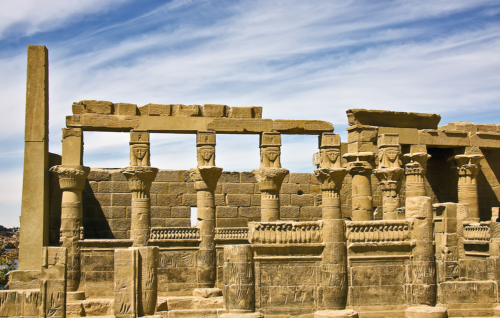 Philae - West Temple
