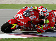 Italian Marco Melandri, Commercial Bank Grand Prix of Qatar, MOTO GP class, Losail International Circuit, 8 April 2006