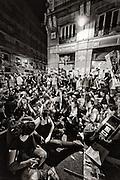 Real Democracy platform concentration in the Puerta del Sol