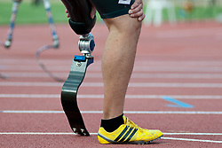 Behind the scenes, , 100m, T42, 2013 IPC Athletics World Championships, Lyon, France