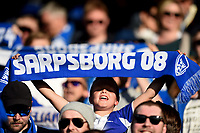 Fotball , 1. mai 2017 , Eliteserien<br /> Sarpsborg - Rosenborg 1-2<br /> illustrasjon , skjerf , sarpsborg 08 , fan , fans , publikum