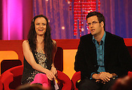 JULIET LEWIS AND MARCUS BRIGSTOCKE ON THE BIGGER PICTURE WITH GRAHAM NORTON.26.9.06.PIX STEVE BUTLER