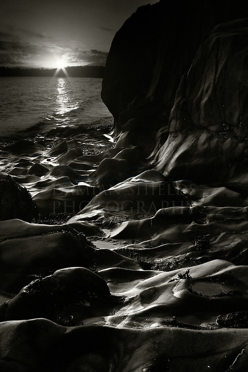 Rock formations, Tralee bay, Benderloch, Oban