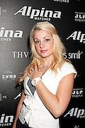 Darcy Odom wears an Alpina watch