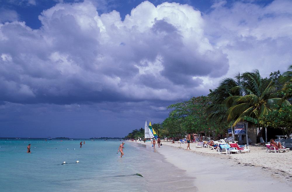 Beach Negril, Jamaica, Caribbean