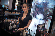 Kathoeys work in predominately female occupations, such as in shops, restaurants and beauty salons, but also in factories. Kathoeys also work in the entertainment sector and at tourist centers, cabarets -- such as the Alcazar in Pattaya, wich is among the best known..Kathoeys are more visible and more accepted in the Thai culture than transgender or transsexual people are in Western countries..This acceptance is due to the nature of the surrounding Buddhist culture, which places a high value on tolerance..