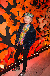 SOPHIE KENNEDY-CLARK at the 3rd anniversary party of Sushisamba at the Heron Tower, 110 Bishopsgate, City of London on 10th November 2015.