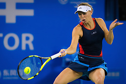 September 26, 2018 - Caroline Wozniacki of Denmark in action during her third-round match at the 2018 Dongfeng Motor Wuhan Open WTA Premier 5 tennis tournament (Credit Image: © AFP7 via ZUMA Wire)