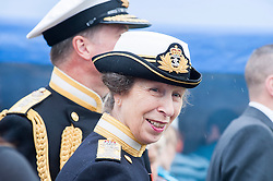 In the Shadow of Sterling Castle and Wallace's Monument HRH Princess Anne the Princes Royal joins the 1,000's of servicemen and women taking part in the 6th Annual Armed Forces Day. <br />