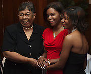 Thanks to the 12th annual Mom's Weekend Cabaret three generations of the Watkins family, Jamie Watkins, June Ware-Watkins and Vicki Redding, were together to celebrate Mother's Day Saturday night.  Phi Beta Sigma Fraternity hosted the Cabaret which featured food, dancing and a live jazz band.
