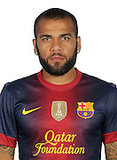 F.C. Barcelona 2012 / 2013. Daniel Alves...Photo: Gregorio / ALFAQUII